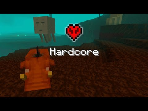 I Tried To Beat Minecraft Starting In The Nether... On Hardcore