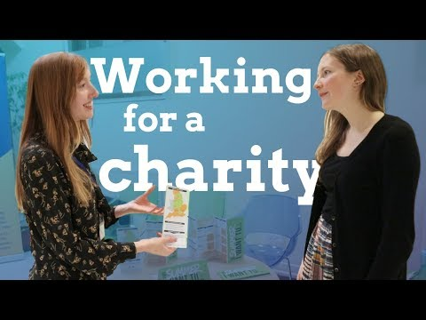 How to get a job with a charity