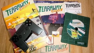 Tearaway Unfolded PS4 Special Edition Press Copy UNBOXING - Dual Shock 4 Papercraft Controller!