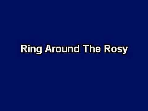 Ring Around The Rosy, Karaoke video with lyrics, Instrumental Version