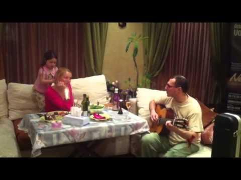 Анастасия Волочкова дома