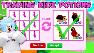 Trading RIDE POTIONS ONLY In Adopt Me! (Roblox) How to get RIDE POTIONS