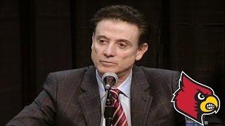 Rick Pitino Emotional after Louisville Postseason Ban