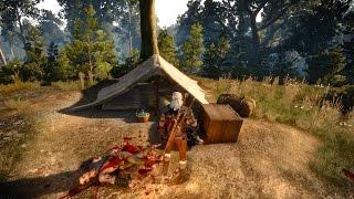 Deserter Gold: Geralt, Dead Spy and Old Mill Treasure Hunt (Witcher 3 | Quest)