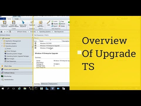 How to Create SCCM CB Task Sequence to Upgrade Windows 10 1709