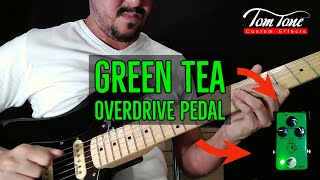 Green Tea Overdrive in Dorian Solo Played By Leandro Assis