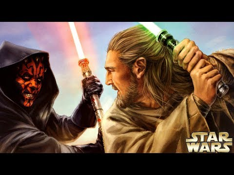 How Darth Maul REALLY Beat Qui-Gon Jinn In The Phantom Menace - Star Wars Explained