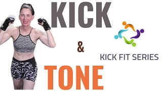 30 MINUTE WORKOUT | KICK & TONE | WEIGHT LOSS WORKOUT | FAT BURNING WORKOUT | CARDIO KICKBOXING |AFT