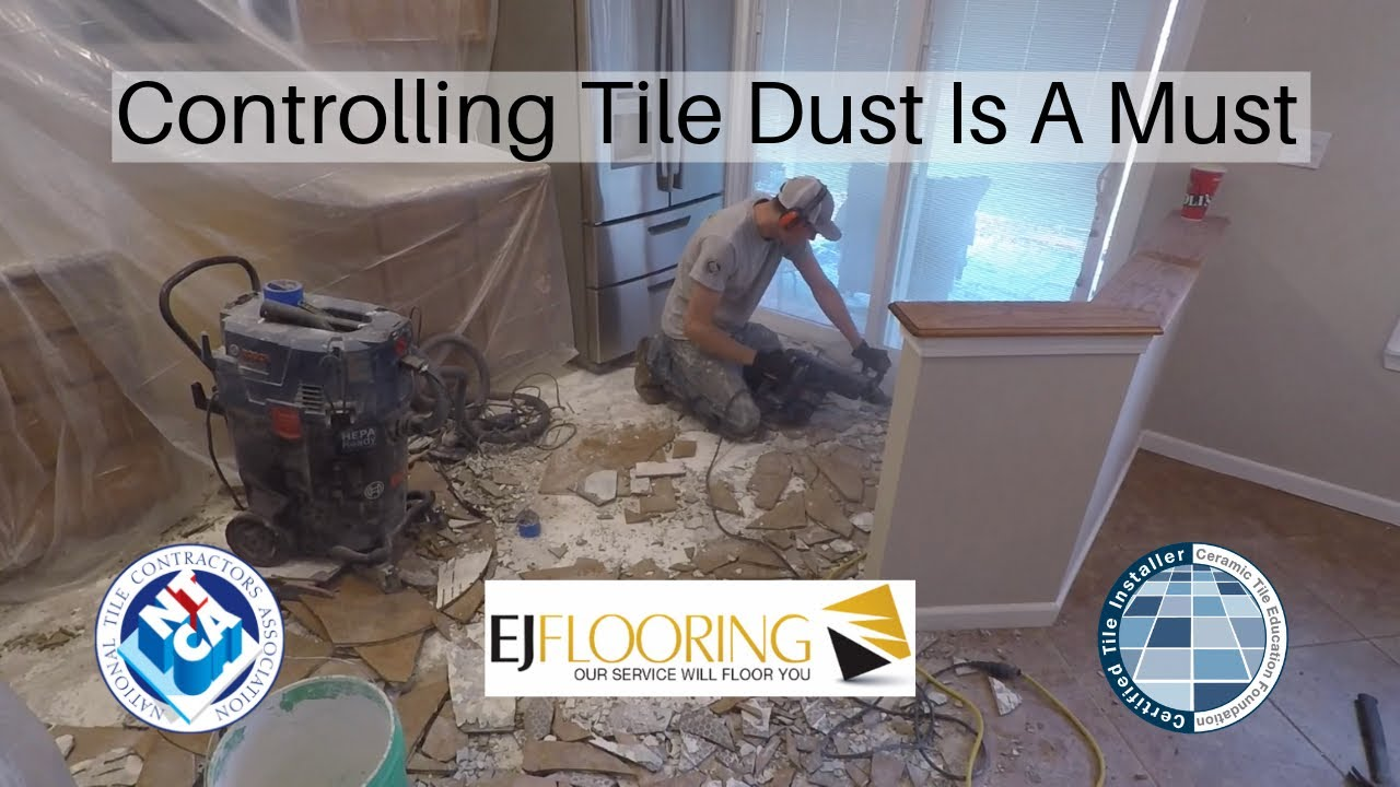 cost to remove tile flooring