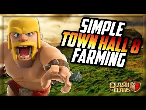 Simple TH8 Farming Strategy | Max a TH8 Episode 1 | Clash of Clans