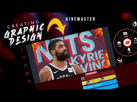 Creating Graphic Poster Design in Kinemaster