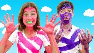 Nastya y Artem - entretenimiento divertido y hogar