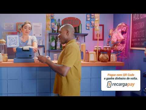 RecargaPay - Pague com Código QR e simplifique sua vida!