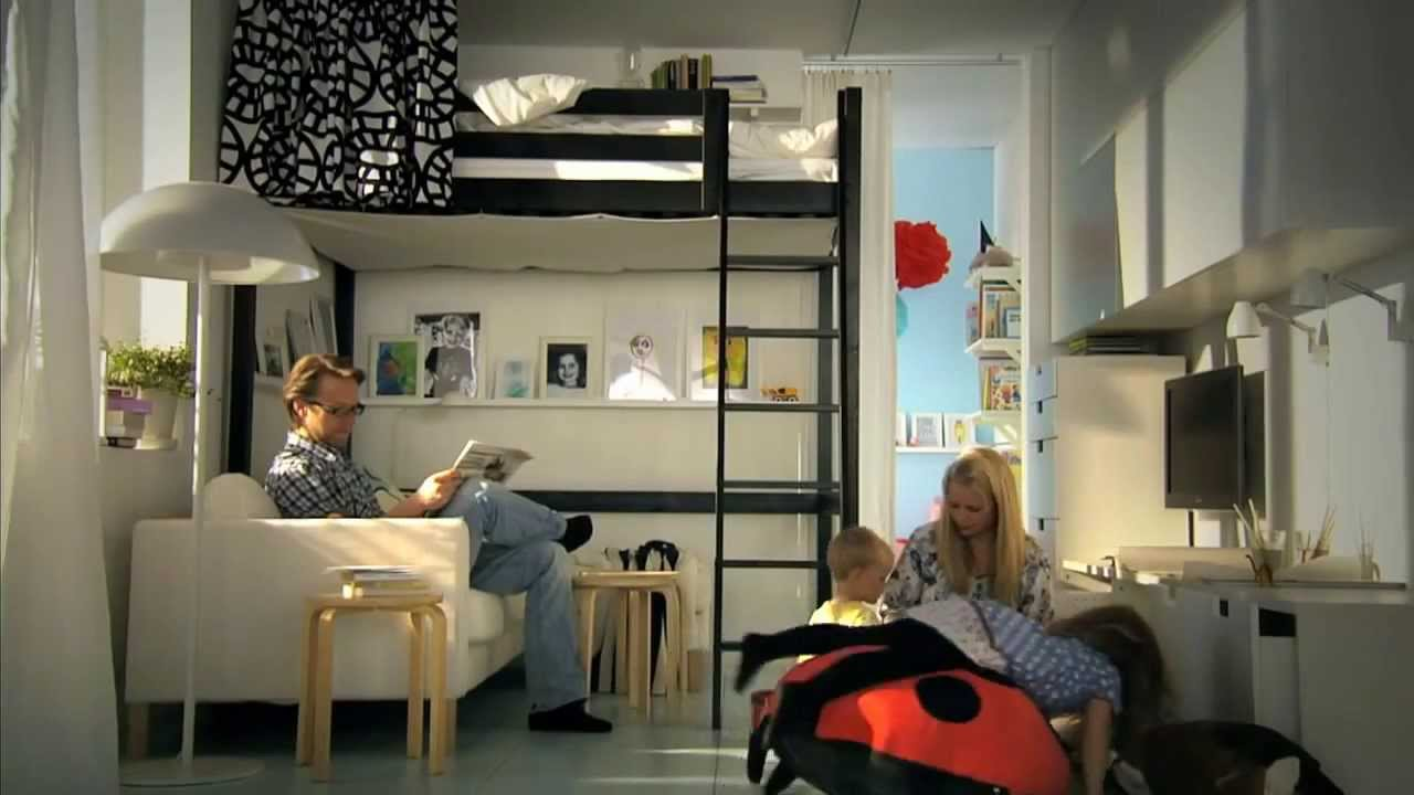 Small Space Decorating Ideas - YouTube