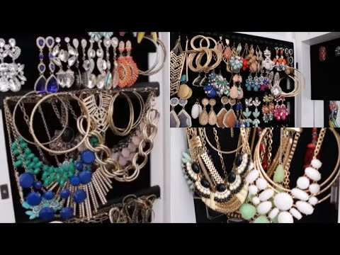 My Jewelry Collection Storage and Clean Out