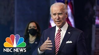 Biden, Harris Speak After Meeting with National Governors Association | NBC News