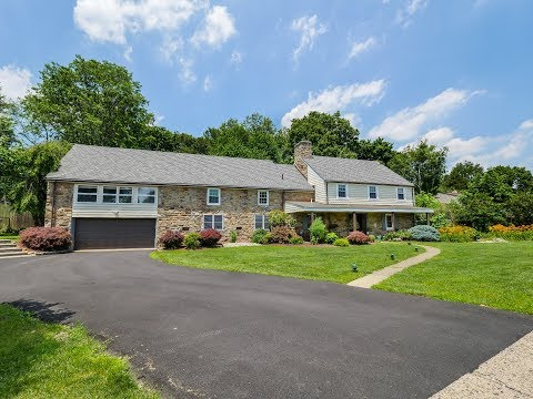 Home For Sale Remodeled 1929 Stone Farmehouse 3738 Ridgeview Huntingdon Valley PA 19006 Real Estate