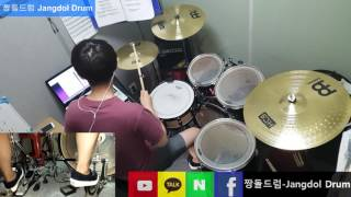 BLACKPINK-마지막처럼(AS IF IT'S YOUR LAST) / 짱돌드럼 Jangdol Drum (드럼커버 Drum Cover, 드럼악보 Drum Score)