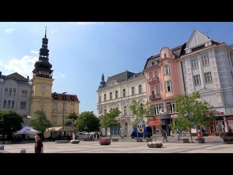 Ostrava - Old Town (Staré Město), Czech Republic (Česká republika) HD (turysta)
