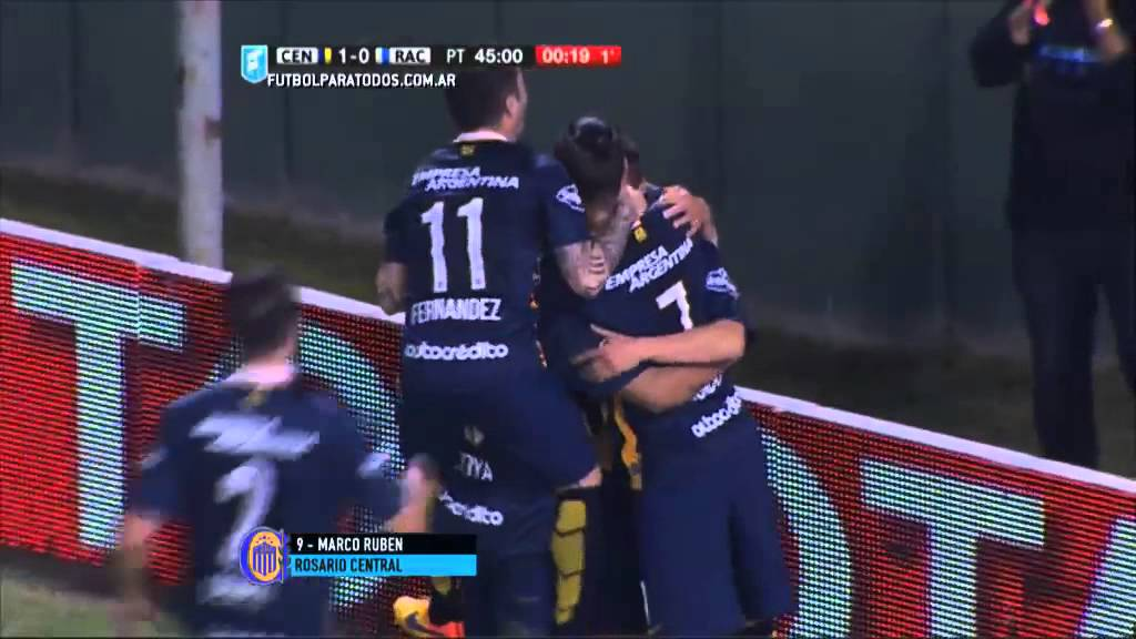 Rosario Central 1-0 Racing Club