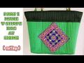 tote bag making tutorial  sewing in hindi diy 2018-TOTE BAG MAKING VIDEO SERIES 1