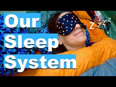 BICYCLE TOURING GEAR | Our Camping & Bike Touring Sleep Setup