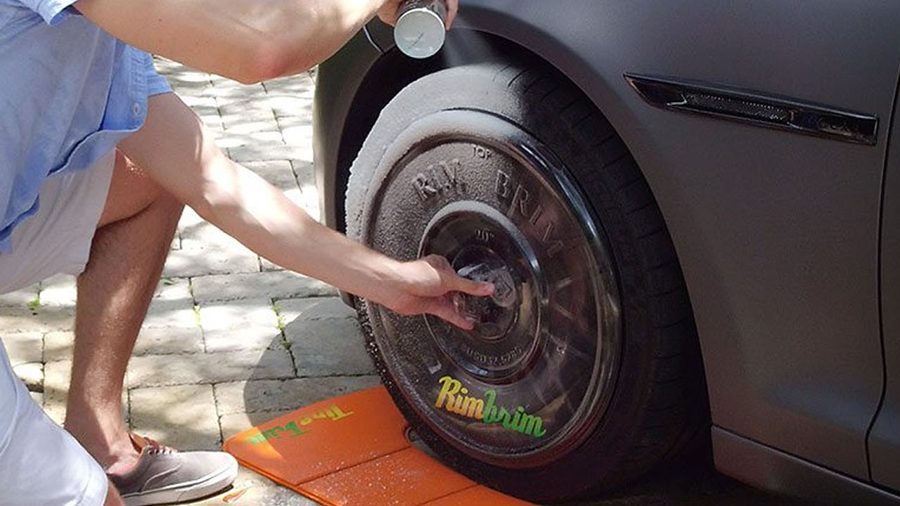how to make tyre shine