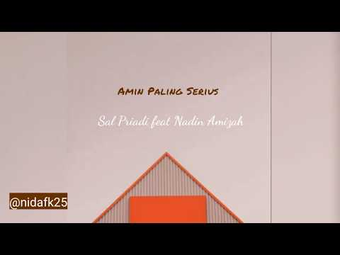 amin-paling-serius-(lirik)---sal-priadi-feat-nadin-amizah