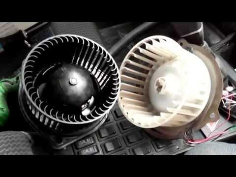 видео: Электро мотор отопителя печки