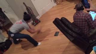 Angry White Kid Smashes iPad Because It Isn't Big Enough