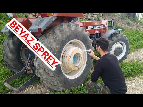 Traktorun Jantini Boyadik Jant Nasil Boyanir New Holland 80 66 Dt Youtube
