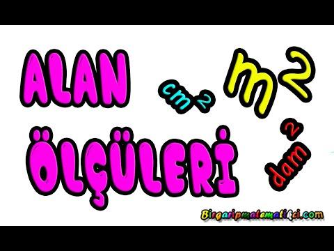 Alan Olculerini Birbirine Cevirme Donusturme