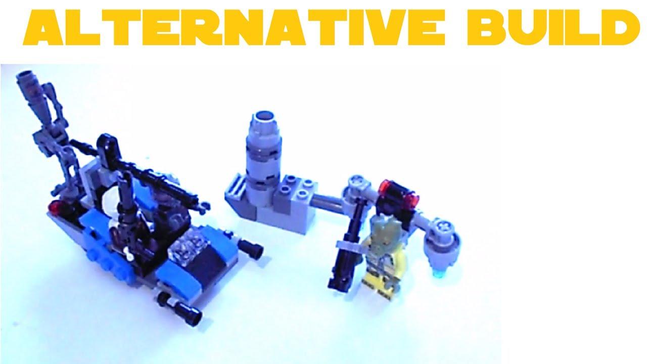 Lego 75167 Bounty Hunter Heavy Assault Speeder Alternative Build