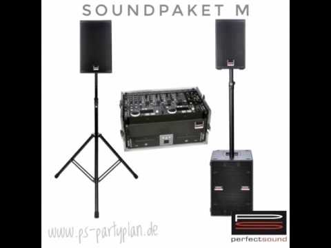 perfect sound, veranstaltungstechnik, musik, sound, pa anlage, dj, dj equipment, soundanlage, bescha