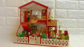 DIY Miniature Dollhouse Kit  Peaceful Time