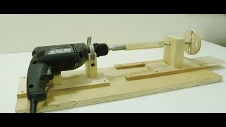 Repeat youtube video How to make a Mini Lathe