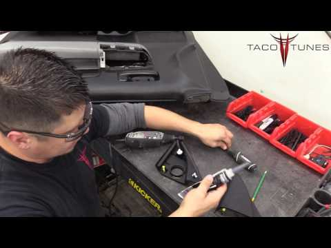 Toyota Tundra  - How To Install Tweeters In Stock Sail Panel -how To Modify