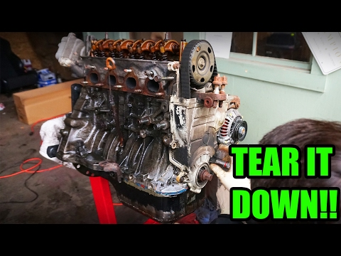 BREAKING DOWN THE ENGINE!