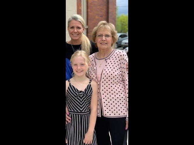 Donna, Survivor and Christina, Caregiver