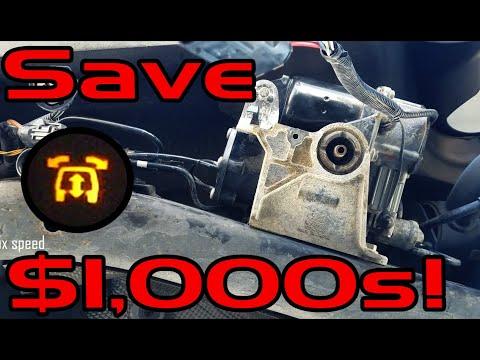 Replace Air Suspension Compressor – Range Rover Sport or LR3 (Suspension Fault)