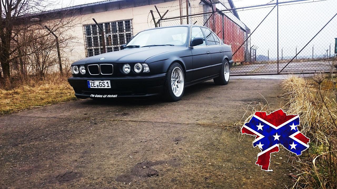 BMW e34 520i Umbau + Magnaflow Sound (reupload)