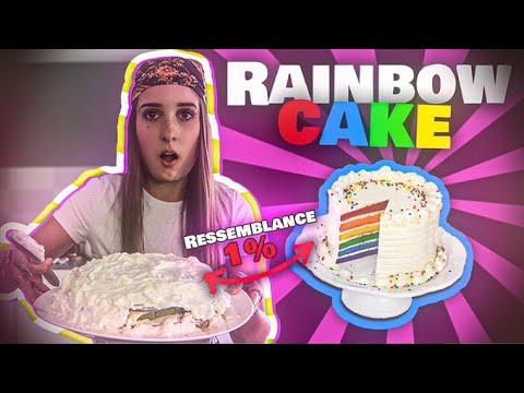 Download JE CUISINE UN RAINBOW CAKE (LA CATA...)