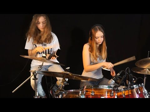 Honky Tonk Women (Rolling Stones); Sina feat Milena on drums thumbnail