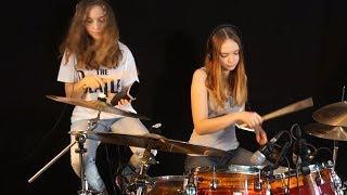 Honky Tonk Women (Rolling Stones); Sina feat Milena on drums