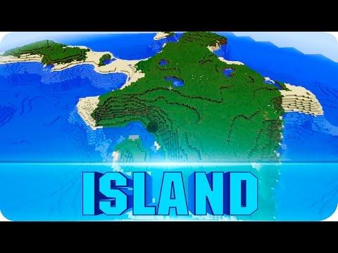Minecraft Seeds - Large Survival Island with One Tree - 1.8.6 / 1.8 Island Seed