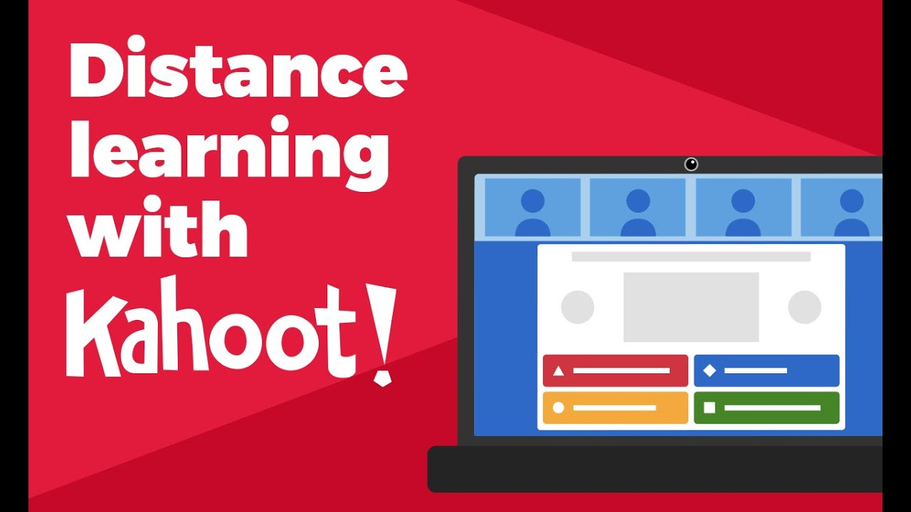How to host a kahoot live over video with remote participants - YouTube