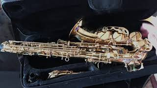 саксофон с Али экспресс за 300
