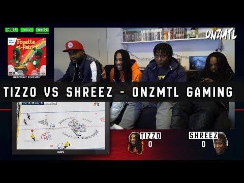 Youtube: Tizzo Vs Shreez – Quizz, Q&A & NHL19  // ONZMTL GAMING #5