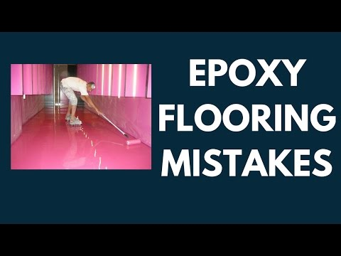 Are you making these three mistakes with epoxy floors?