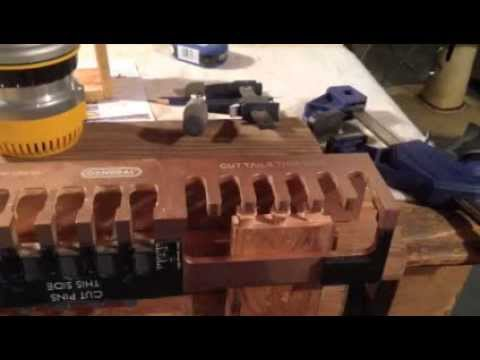wolfcraft dovetail jig instructions